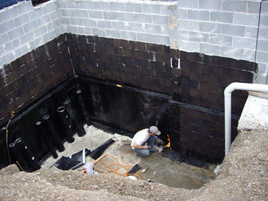 Kỹ thuật chống thấm tầng hầm